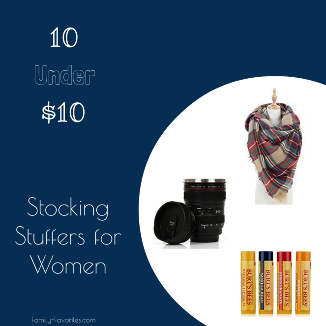 10 Under $10 - Stocking Stuffers For Women