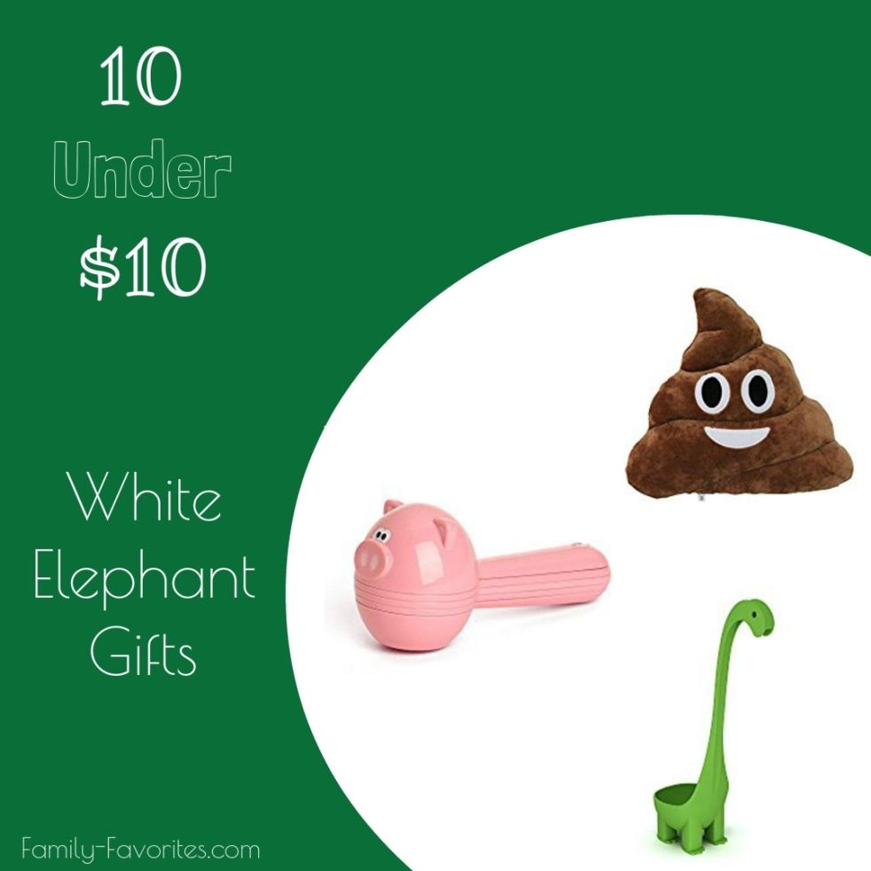 White Elephant Gifts Under $10