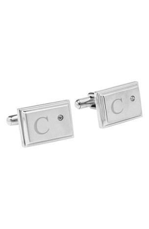 Gifts For Dad Under $50 - Monogram Cuff Links