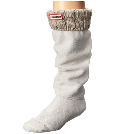 Gifts For Mom Under $50 - Hunter 6 Stitch Cable Boot Sock