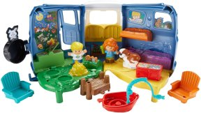 Gifts For Toddlers - Fisher-Price Little People Songs and Sounds Camper