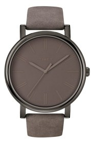 Gifts For Dad Under $100 - Timex 'Easy Reader' Leather Strap Watch