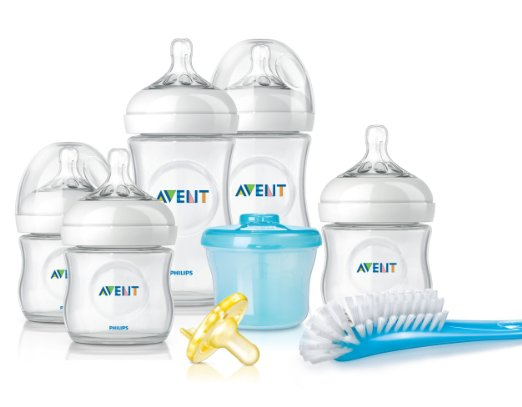 Baby Registry Must Haves - Philips Avent Natural Newborn Baby Bottle Starter Set