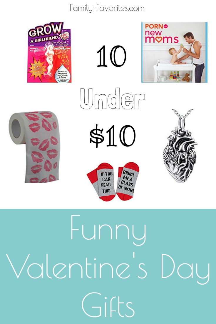 10 Under $10 - Funny Valentine's Day Gifts