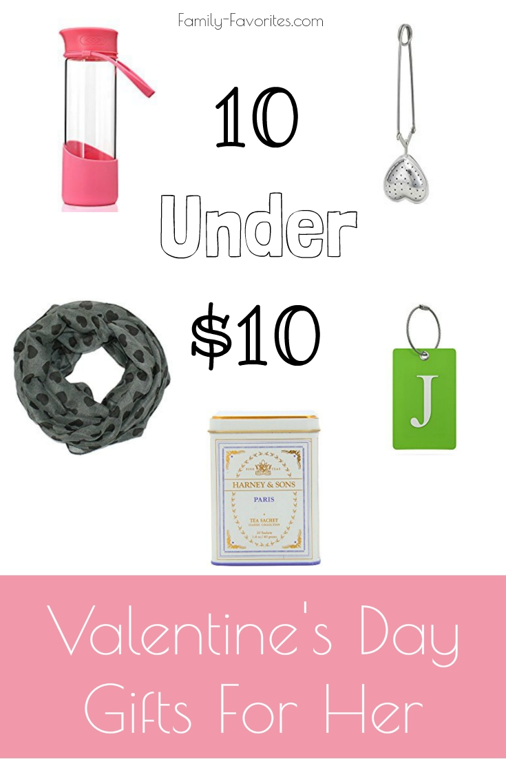 10 Under $10 - Valentine's Day Gifts For Her