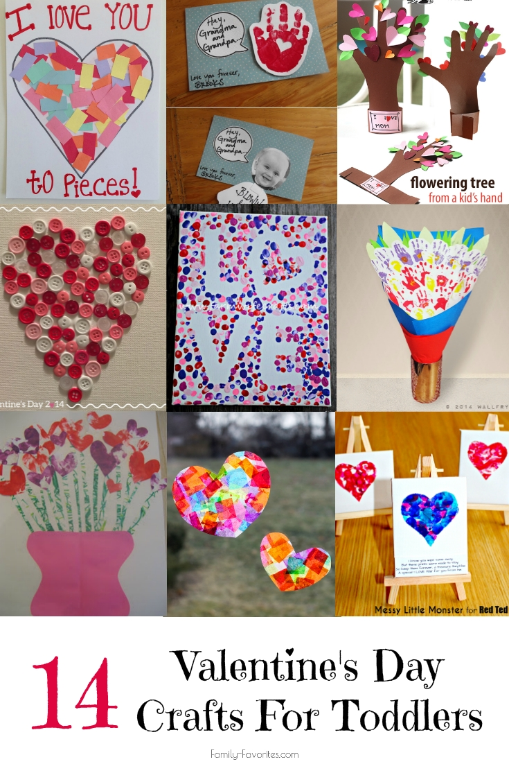 14 valentine s day crafts for toddlers family favorites for Valentines day toddler crafts