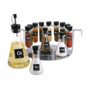 50 Valentine's Day Gifts For Him Under $50 -14 Piece Chemistry Spice Rack Set