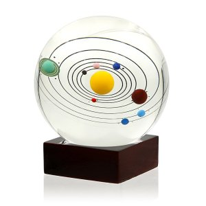 50 Valentine's Day Gifts For Him Under $50 - Solar System Crystal Ball