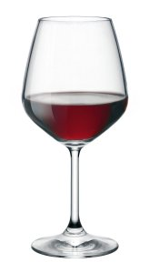 50 Valentine's Day Gifts for Her Under $50 - Bormioli Rocco Restaurant Red Wine Glass, Set of 4