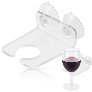 50 Valentine's Day Gifts For Her Under $50 - Bathtub Wine Glass Holder