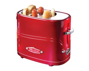 50 Valentine's Day Gifts For Him Under $50 -Retro Series Pop-Up Hot Dog Toaster