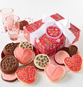 50 Valentine's Day Gifts For Her Under $50 - Buttercream Frosted Valentine Cookie Boxes