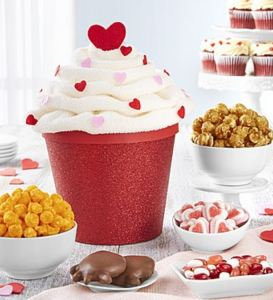 50 Valentine's Day Gifts For Her Under $50 - The Popcorn Factory Cupcake Snack Box