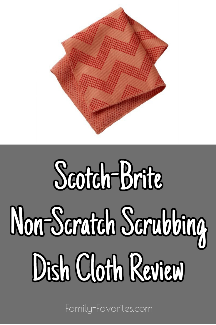 Scotch-Brite Non-Scratch Scrubbing Dish Cloth Review