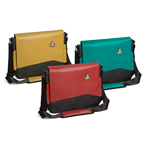 50 Valentine's Day Gifts For Him Under $50 -Star Trek TNG Uniform Messenger Bags