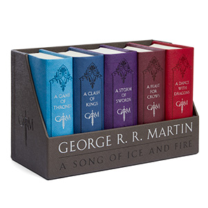 50 Valentine's Day Gifts For Him Under $50 - A Song of Ice and Fire Cloth-Bound Boxed Set