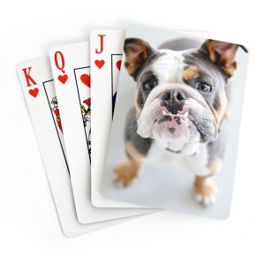 50 Valentine's Day Gifts For Him Under $50 - Custom Playing Cards