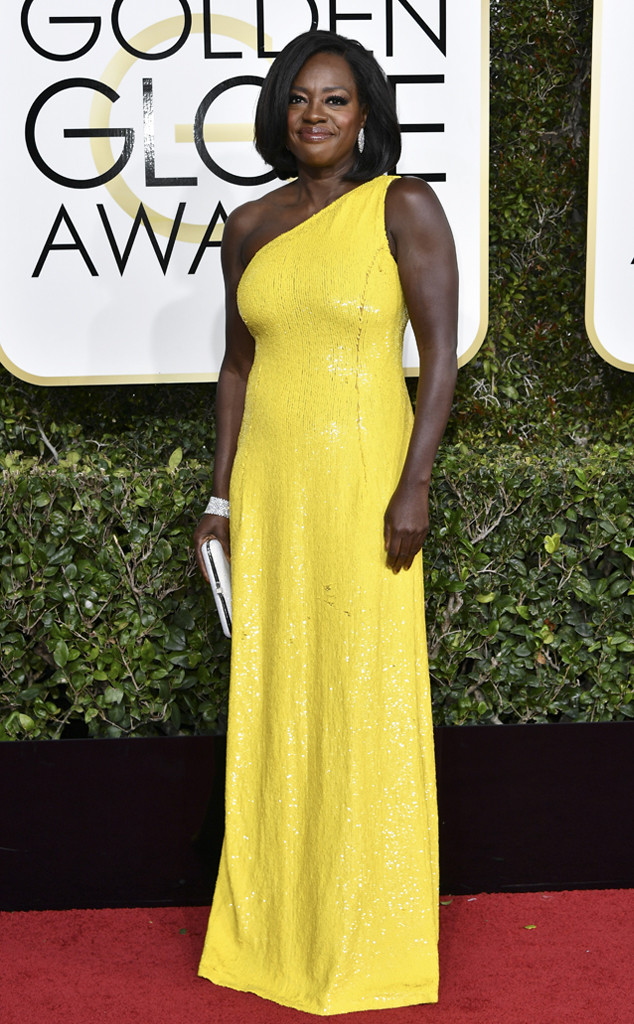 Best Dressed Moms at the 2017 Golden Globes - Viola Davis