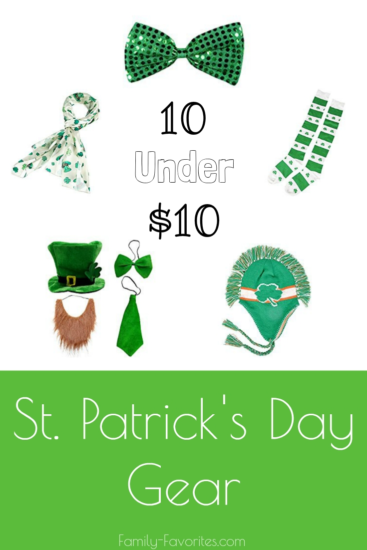 10 Under $10 - St Patrick's Day Gear