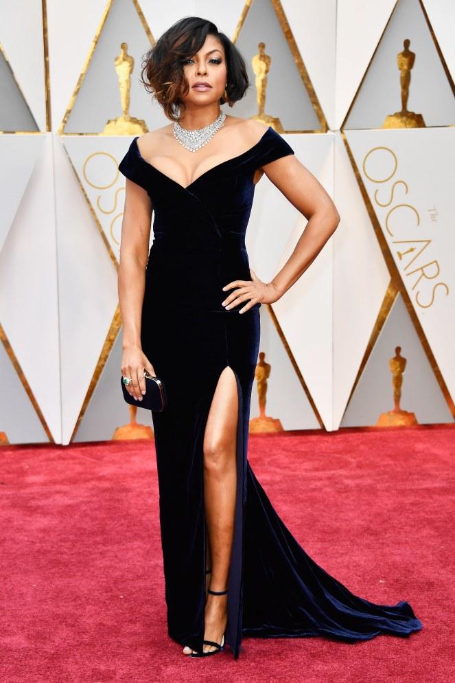 Oscars 2017 - Best Dressed Moms - Taraji P. Henson