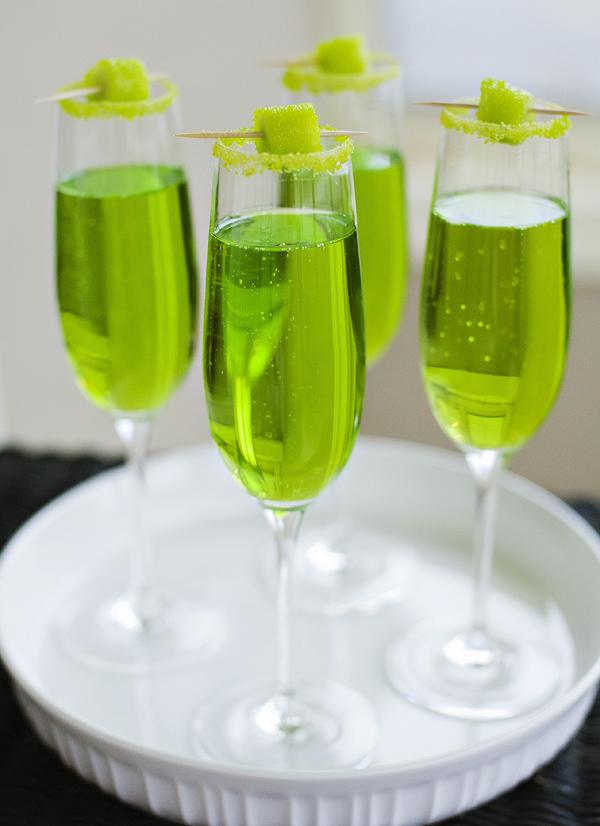 17 St Patrick's Day Cocktails - Sparkling Shamrock
