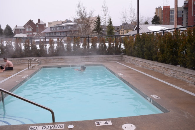 Whistler Family Vacation - Aava Whistler Hotel Review - Pool