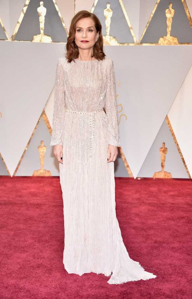 Oscars 2017 - Best Dressed Moms - Isabelle Huppert