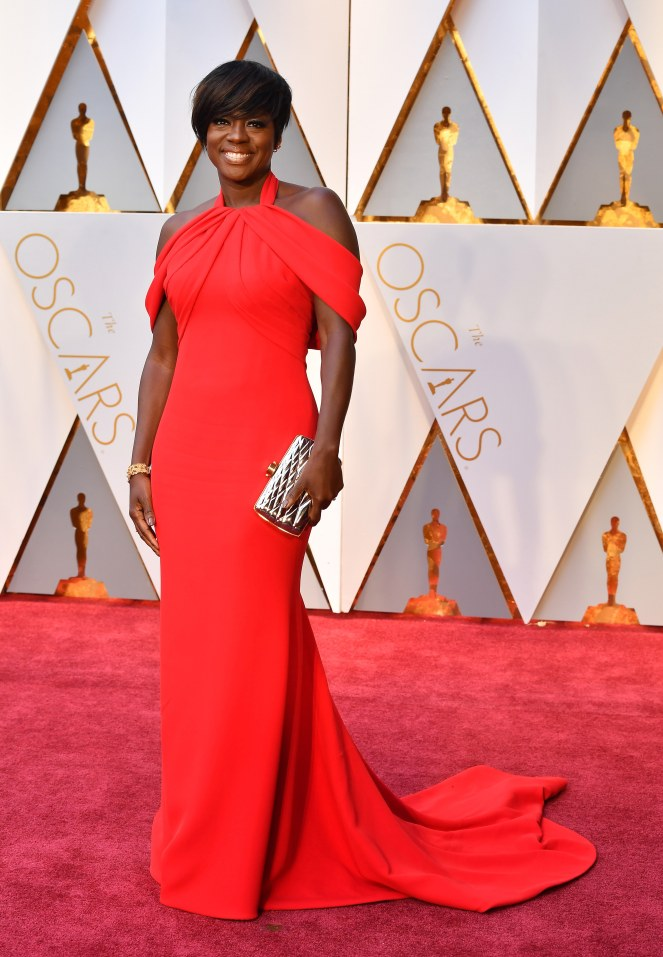 Oscars 2017 - Best Dressed Moms - Viola Davis