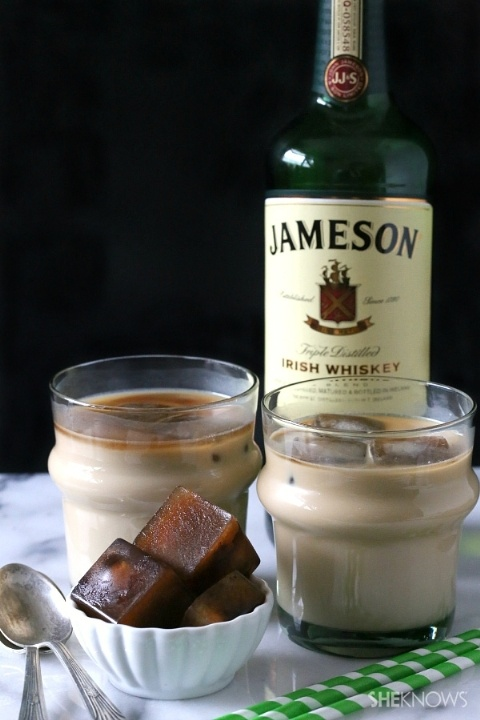 17 St Patrick's Day Cocktails - Iced Irish Coffee