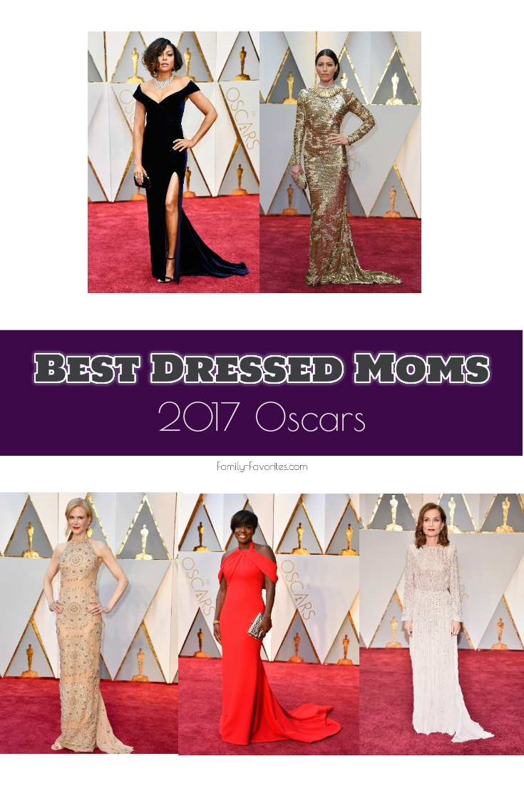 Oscars 2017 - Best Dressed Moms