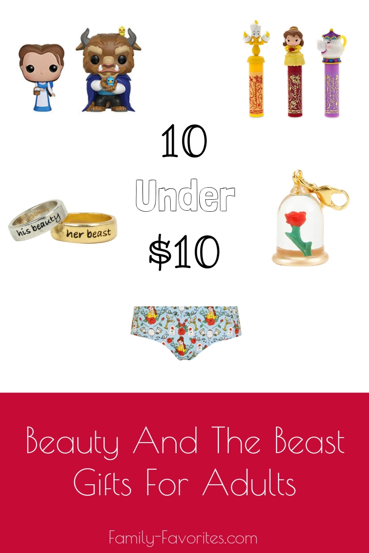 10 Under $10 Beauty and the Beast Gifts For Adults