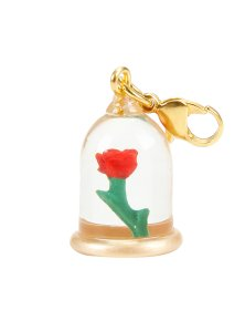 10 Under $10 - Beauty And The Beast Gifts For Adults - Beauty and the Beast Enchanted Rose Charm