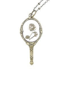10 Under $10 - Beauty And The Beast Gifts For Adults - Beauty and the Beast Mirror Necklace