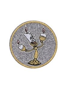 10 Under $10 - Beauty And The Beast Gifts For Adults - Beauty and the Beast Lumiere Sticker Patch
