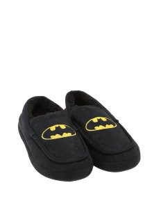 20 Geek Gifts For Him Under $20 - DC Comics Batman Guys Moccassin Slippers