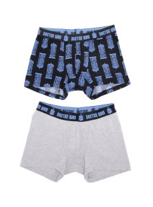20 Geek Gifts For Him Under $20 - Doctor Who Boxer Brief 2 Pack