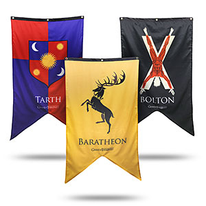 20 Geek Gifts For Him Under $20 - Game of Thrones Banners
