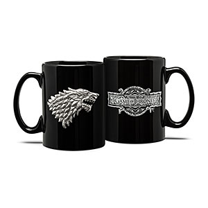 20 Geek Gifts For Him Under $20 - Game of Thrones Stark Emblem Mug