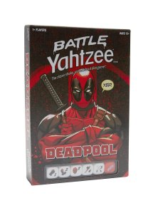 20 Geek Gifts For Him Under $20 - Marvel Deadpool Battle Yahtzee Game