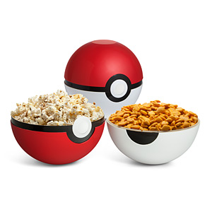 20 Geek Gifts For Him Under $20 - Poke Ball Serving Bowl Set