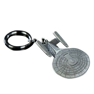 20 Geek Gifts For Him Under $20 - Quantum Mechanix Star Trak USS Enterprise NCC-1701-D Key Chain