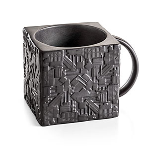 20 Geek Gifts For Him Under $20 - Star Trek Borg Cube Mug