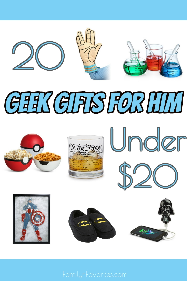 20 Gifts For Him Under $20