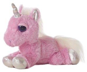 10 Under $10 - Unicorn Gifts - Aurora World Dreamy Eyes Heavenly Pink Unicorn