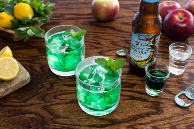 17 St Patrick's Day Cocktails - Angry Shamrock