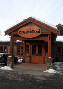 Whistler Family Vacation - Where To Eat With Toddlers & Kids - Creekbread