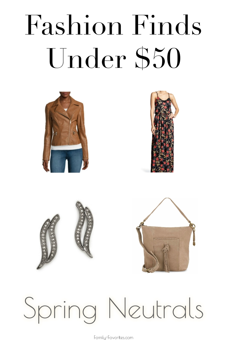 Fashion Finds Under $50 - Spring Neutrals