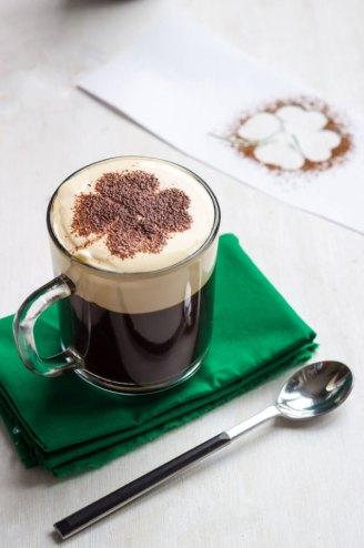 St Patrick's Day Breakfast Menu - Irish Coffee
