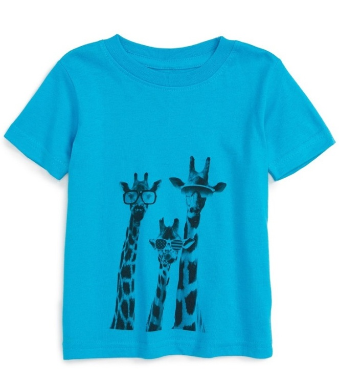 Kid Dangerous 'Giraffes' T-Shirt- Cute Baby Clothes Under $20 From Nordstrom's Half-Yearly Sale