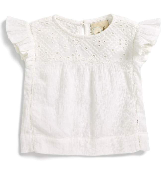 Peek Roselle Top - Cute Baby Clothes Under $20 From Nordstrom's Half-Yearly Sale